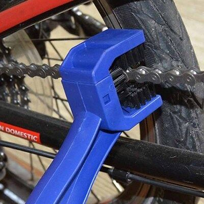 Bike Bicycle Motorbike Dirt Chain Gear Cleaner Cleaning Brush Tools