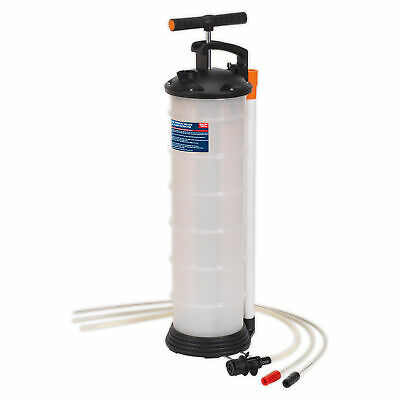 Sealey Engine Oil Extractor - 6.5 Litre Capacity - Suitable For Fuel/Coolant