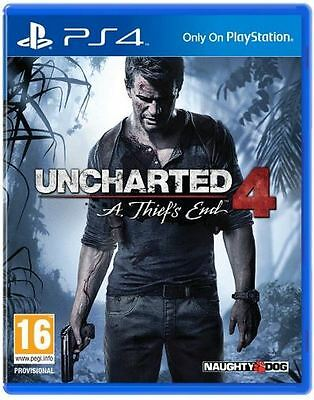Uncharted 4: A Thief's End (PS4) [New Game]