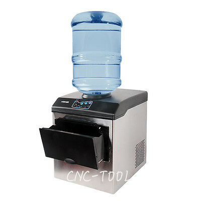 160W Commercial ice cube maker Bullet round ice making machine 220V