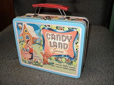 1998 Series No. 1 CANDY LAND Tin Lunch Box