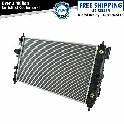 Radiator Assembly Plastic Tank With Aluminum Core Direct Fit for Chevy Cruze New