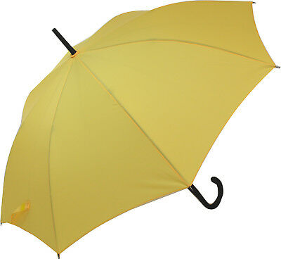 Blooming Brollies Classic Auto Stick Umbrella - Yellow