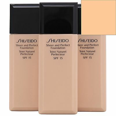 Shiseido Sheer & Perfect Foundation Natural Light Beige B20 SPF15 30ml