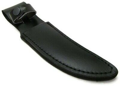 """Leather Fixed Blade knife sheath fits up to 4.5"""" blade Knives"""
