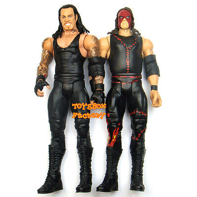 """"""" The Brothers of Destruction """" WWF WWE Kane & Undertaker Action Figures Kid Toy"""