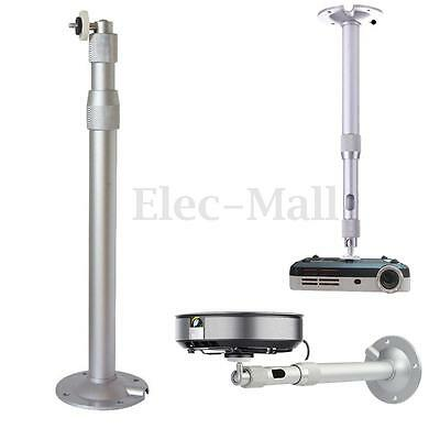 360° 40cm Adjustable Wall Ceiling Mount Bracket Extendable for LCD DLP Projector