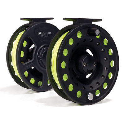 Leeda La Fly Fishing Reel Preloaded With Wf Floating Fly Line And Backing