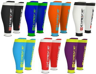 Compressport Calf R2V2 Waden Kompression Stulpen Sleeves Calfs Triathlon run