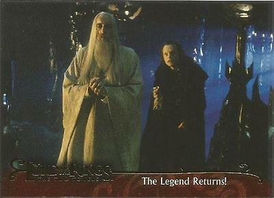 Lord of the Rings The Two Towers Promo Trading Card P1 from Topps 2002