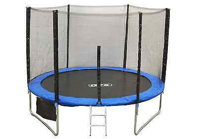 6FT Trampoline With Safety Net Enclosure Ladder Rain Cover Shoe Bag for Kids
