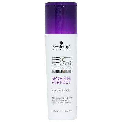 Schwarzkopf BC Bonacure Smooth Perfect Conditioner For Unmanageable Hair 200ml