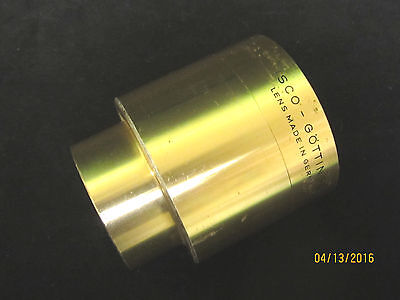 Vintage ISCO 120mm Ultra MC 35/70mm Cine Projector Lens