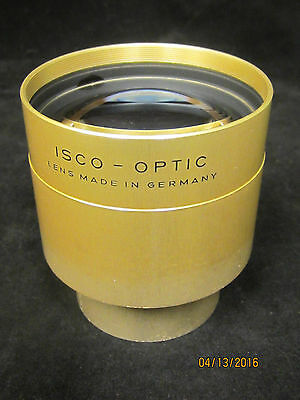 Vintage ISCO 115mm Ultra MC 35/70mm Cine Projector Lens