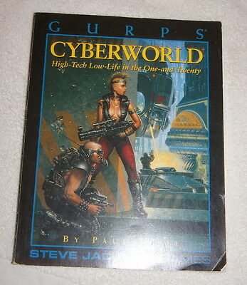 GURPS Cyberworld - High-Tech Low-Life in the One-and-Twenty (1993)