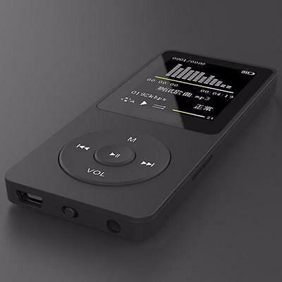 1.8'' TFT 8/16GB HiFi Lossless Sound Slim MP3 Music Player FM Recorder TF Card