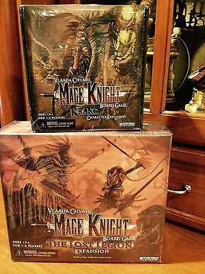 Mage Knight Board Game: Krang & The Lost Legion Expansion New!  *SEALED*