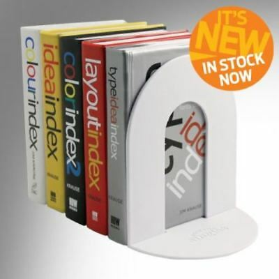 NEW! If Bookend Singles Indvidual Folding Book End Holder Stand