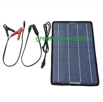 Solar Panels 10W 12V Photovoltaic  Battery Charger For Motorcycle Car Ship
