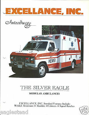 Ambulance Brochure - Excellance - The Silver Eagle - Type III I Modular  (DB170)