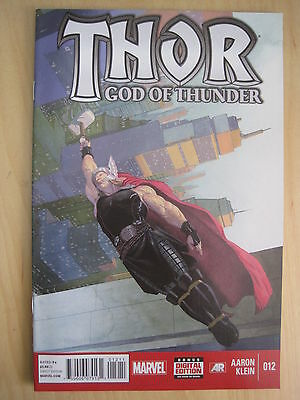 THOR GOD of THUNDER # 12 by AARON & KLEIN. FANTASTIC !. MARVEL NOW! 2013