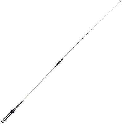 VHF/UHF144/430MHz Antenna Stainless Steel for Amateur Car Radios Mobile/Station
