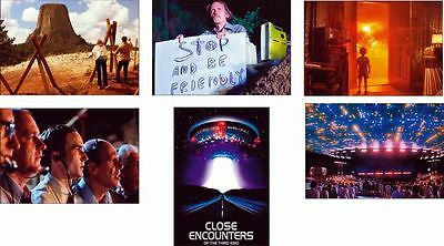 Close Encounters of the Third Kind Great New Film Scene 6 Postcard Set
