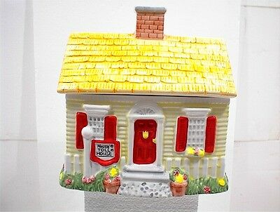 Nestle Toll House Cookie Jar & Lid Usa 1992