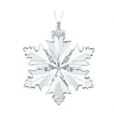 2014 Swarovski Snowflake Christmas Ornament #5059026 Bnib Crystal Star Save$ F/S