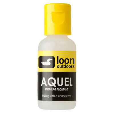 Aquel Fly Fishing Floatant Loon Outdoors Temperature Stable Almont Anglers Logo