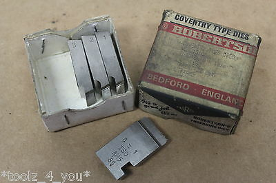 "New Wharco M8 x 1 Metric Fine Coventry Die Chasers For 3/4"" Head CD16"