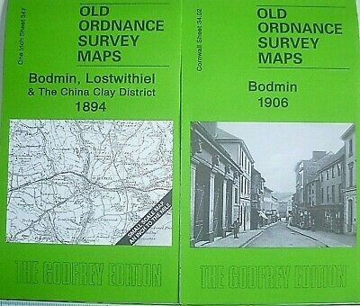 Old Ordnance Survey Detailed  Maps Bodmin Cornwall 1906  Sheet 71.04 New Map