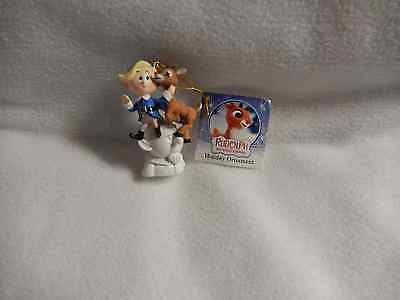 Christmas 2.75''in.rudolph/friends Resin 3-D Ornament-New ( 1 Orn Only)