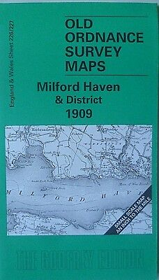 Old Ordnance Survey Maps Milford Haven & District & Plan Little Haven 1909