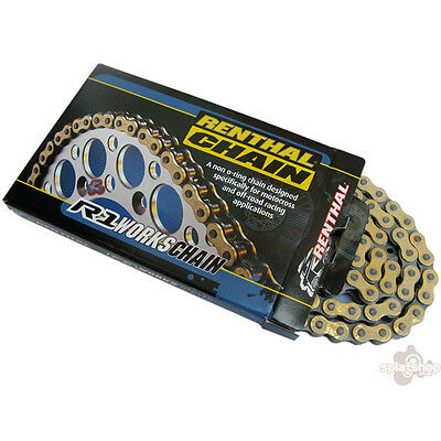 Renthal R1 Racing Chain Unsealed 520 Pitch 120 Link MX A128
