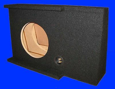 "Gmc Sierra Crewcab Nbs 2007-2013 Single 12"" Black Drivers Side Subwoofer Sub Box"