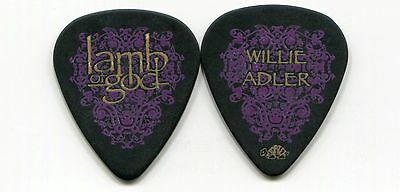 LAMB OF GOD 2007 Sacrament Tour Guitar Pick!!! WILLIE ADLER custom concert stage