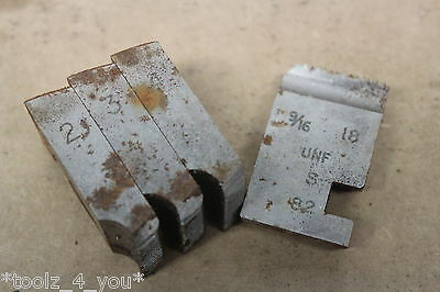 "Alfred Herbert 9/16"" x 18 Tpi UNF Coventry Die Chasers For 1"" Head CD126"