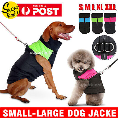 Waterproof Puppy Pet Dog Cat Winter Warm Coat Vest Jacket Clothes Costume S-XL