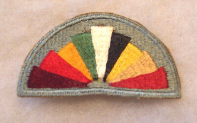 Wwii Us Army Female Hostess Shoulder Patch - No Glow Original Embroidered