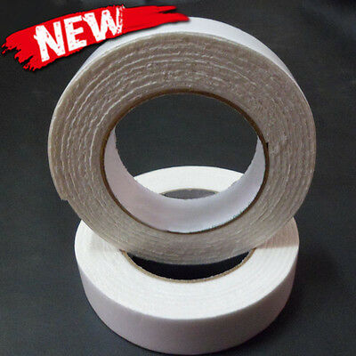 2 Rolls Double Sided Foam Mounting Tape Sticky Strong Adhesive Stripsn White New