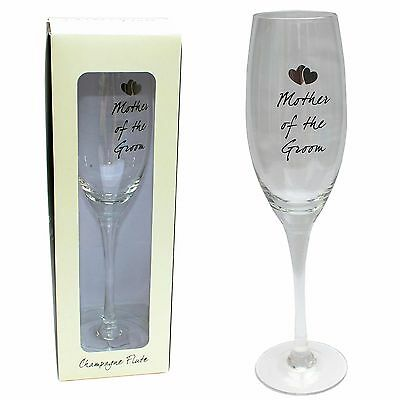 Mother Of The Groom Champagne Flute - Wedding Gift