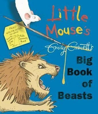 Little Mouse's Big Book of Beasts by Emily Gravett 9781447249986