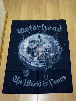 Fahnen Flagge MOTÖRHEAD The World is Yours Posterflagge - 75 x 107 cm