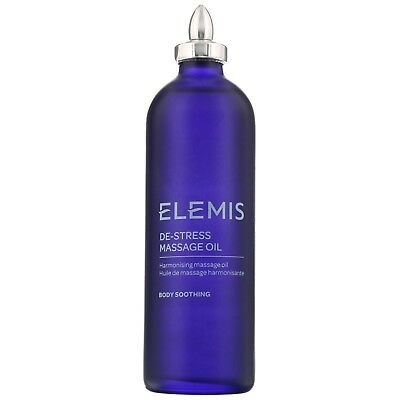 NEW Elemis Sp@Home - Body Soothing De-Stress Massage Oil 100ml FREE P&P