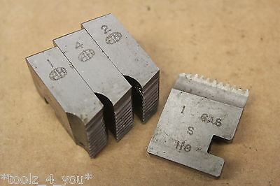 "Alfred Herbert 1"" x 11 Tpi BSP Coventry Die Chasers For 1 1/4"" Head CD155"