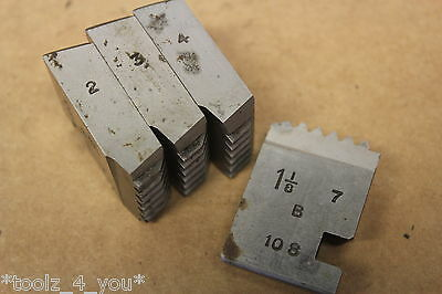 "1 1/8"" x 11 Tpi BSP Coventry Die Chasers For 1 1/4"" Head CD157"