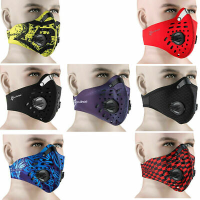 RockBros Bike Cycling Anti-dust Half Face Mask with Filter Neoprene One Size