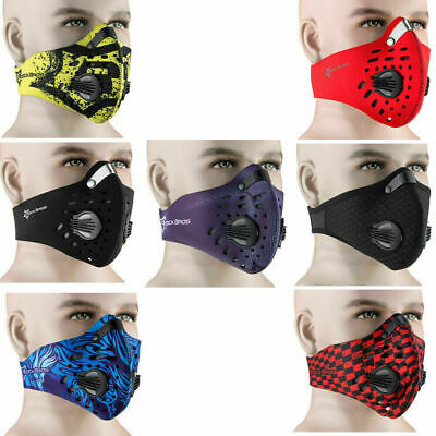 RockBros Cycling Sports Anti-dust Half Face Mask with Filter Neoprene One Size