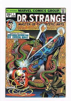 Doctor Strange # 1 It Lurks within the Cystal Ball  grade 7.5 scarce book !!